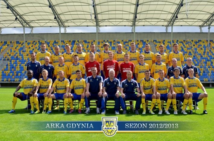 Kadra Arki Gdynia na sezon 2012/13