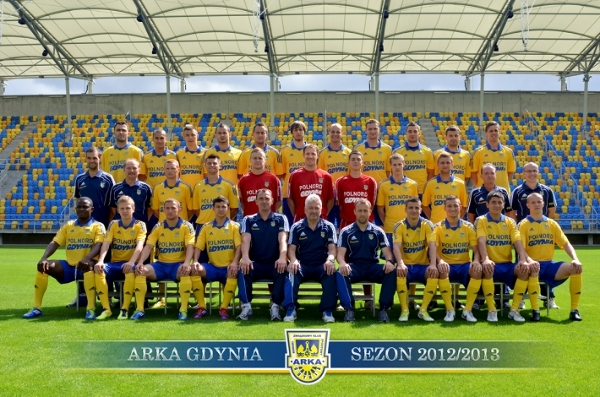 Kadra Arki Gdynia na sezon 2012/13