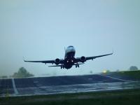 Zobacz zdjęcia z lądowania i startu Ryanaira