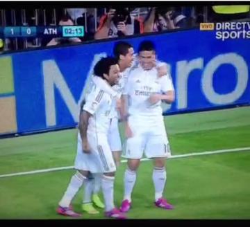CR, James i Marcelo zatańczyli po golu w 2. minucie!