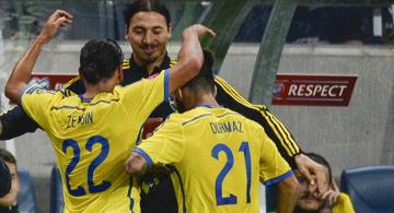 Zlatan wódz. Strzelcy dla Szwecji biegli do Ibrahimovicia