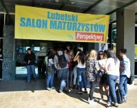 Trwa Lubelski Salon Maturzystów. Uczniowie szukają wymarzonej uczelni