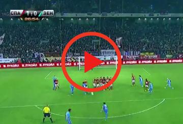 """Hulk """"przylutował""""! Bomba Brazylijczyka w meczu ze Spartakiem (WIDEO)"""