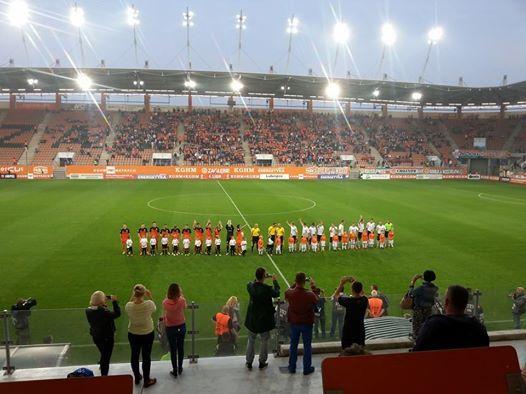 Skrót meczu Zagłębie Lubin - Chrobry Głogów 1:0 (WIDEO)