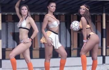 Modelki, tancerki, instruktorki fitness. Odlotowy kalendarz Hutnika Warszawa (WIDEO)