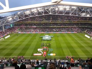 Zdjęcia z meczu Irlandia - Polska prosto ze stadionu (GALERIA)