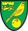 Herb klubu Norwich City