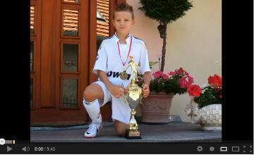 10 Letni Dawid Hanc Nast  Pc   Cristiano Ronaldo   VIDEO